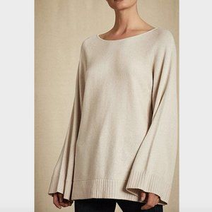Witchery Beige Kimono Sleeve Knit Jumper Sweater L